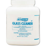Beer Clean® Glass Cleaner Powder Unscented, 64 Oz. Container, 2/Case - DRA90201
