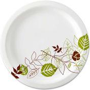 "Dixie Ultra® Pathways Heavyweight Paper Plates, WiseSize, 10 1/16"", 500/Carton"