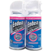 Endust 246050 Compressed Gas Duster, 2 3.5oz Cans/Pack