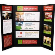 "Elmer's® CFC-Free Polystyrene Foam Premium Display Board, 36"" x 48"", Black, 12/Carton"