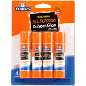 Elmer's® Washable All Purpose School Glue Sticks, 4/Pack