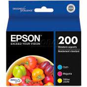 Epson® T200520 DURABrite Ultra Ink, Cyan; Magenta; Yellow