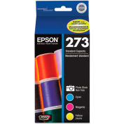 Epson® T273520 (T-273) Claria Ink, 300 Page-Yield, Tri-Color