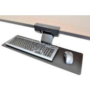 "Ergotron® 97-582-009 Neo-Flex Underdesk Keyboard Arm, 15-3/8"" Track Length, Black"