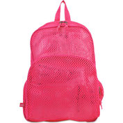 Eastsport® Mesh Backpack, 12 x 5 x 18, Pink