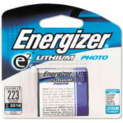 Energizer 6V e² Lithium Battery, 1 per Pack