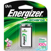 Energizer® 9V e² NiMH Rechargeable Battery