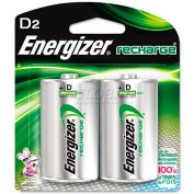 Energizer® NH50BP-2 D e² NiMH Rechargeable Batteries 2 per Pack