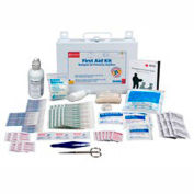 First Aid Only 224-U First Aid Kit for 25 People, 106 Pieces, OSHA Compliant, Metal Case