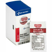 First Aid Only FAE-7011 Burn Cream, 10 Packets/Box
