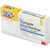 First Aid Only AN-5071 First-Aid Refill Sling/Tourniquet Triangular Bandages, 40 x 40 x 56, 10/Pack