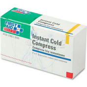 "First Aid Only B-503 Instant Cold Compress, 5 Compress/Pack, 4"" x 5"""