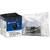 First Aid Only™ FAE-6023 CPR Face Shield & Breathing Barrier, Plastic, One Size Fits Most