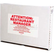 First Aid Only FAE-8010 SmartCompliance ez Refill System First Aid Cabinet Refill for Food Svc
