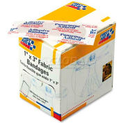 First Aid Only G-122 Fabric Bandages, 1 x 3, 100/Box