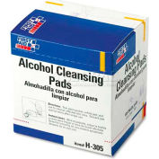 First Aid Only H-305 Alcohol Cleansing Pads, Dispenser Box, 100/Box