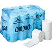 Compact Coreless Bath Tissue, 1000 Sheets/Roll, 36 Rolls/Carton - GEP19375