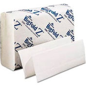 Big Fold Z Paper Towels, 10-1/4 x 11, White, 220/Pack, 10/Carton - GEP20887