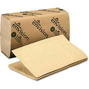 Acclaim 1-Fold Paper Towel, 10-1/4 x 9-1/4, Brown, 250/Pack, 16/Carton - GEP23504
