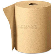 "Georgia Pacific Nonperforated Paper Towel Roll, 7-7/8"" X 625', Brown, 12 Rolls/Case - GEP26200"