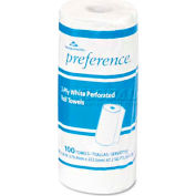 "Preference Perforated Paper Towel Roll, 11"" X 8-7/8"", White, 100/Roll - GEP27300RL"