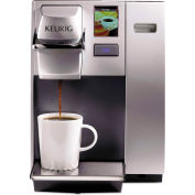 Keurig OfficePRO K155 - Premier Brewing System, Single Cup, Silver, Auto Off Control