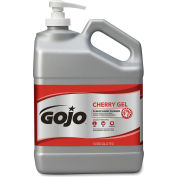 GOJO Cherry Gel 1 Gallon Pump Bottle - 2 Bottles/Case 2358-02
