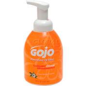 GOJO® GOJ576204 Luxury Foam Antibacterial Handwash,Orange Blossom,18 oz Pump