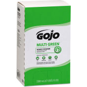 GOJO Multi Green 2000 mL Bag in the Box 4 Refills/Case 7265-04