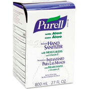 Purell Bag-In-Box Hand Sanitizer Aloe Formula Refill - 12 Refills/Case 9637-12