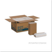 "Envision C-Fold Paper Towel, 10-1/4"" X 13-1/4"", White, 10/Case - GEP25190"
