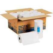 """Georgia Pacific Jumbo Perforated Paper Towels 8-4/5"""" x 11"""", White 250 Sheets/Roll 12/Case - GEP27700"""