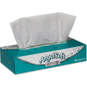 Angel Soft 2-Ply Premium Facial Tissue, White 100 Tissues/Flat Box 30/Case - GEP48580CT