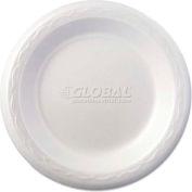 "Genpak® Celebrity Foam Plates, 6"", White, Round"