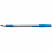 BIC® Round Stic Grip Xtra Comfort Ballpoint Pen, Blue, 1.2mm, Medium, 36/Pack