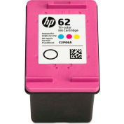 HP 62 Ink, 165 Page-Yield, Tri-Color