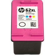 HP 62XL High-Yield Ink, 415 Page-Yield, Tri-Color