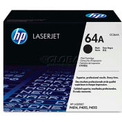 HP CC364AG (HP 64A) Government Smart Toner Cartridge, 10000 Page-Yield, Black