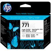 HP CE020A (HP 771) Printhead, Photo Black, Light Gray