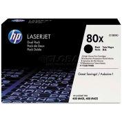 HP CF280XD, HP-280X, High-Yield Toner, 6900 Page-Yield, 2/Box, Black