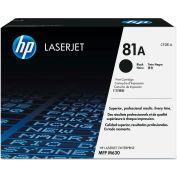 HP CF281A (81A) Toner, 10500 Page-Yield, Black