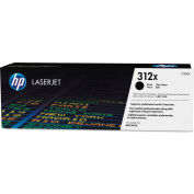 HP 312X High-Yield Toner, 4400 Page-Yield, Black