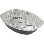Handi-Foil® Aluminum Roasting Container, Oval, 17 11/16 x 14 7/16 x 3 1/4, 25/Carton