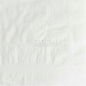 "Hoffmaster HFM 210130 - Tablecover, Tissue/Poly, 54"" x 108"", White, Qty. 25"