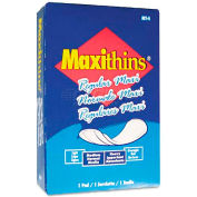 Hospital Specialty Co. Maxi Thin Sanitary Napkins, 100/Case - HOSMT4FS