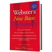 Houghton Mifflin Webster's New Basic Dictionary, Office Edition, Paperback, 896 Pages