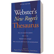 Houghton Mifflin Webster's New Roget's Thesaurus Office Edition, Paperback, 544 Pages