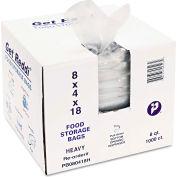 """Food Bags 18"""" x 8"""" x 4"""" 1 Mil - 1000 Pack"""