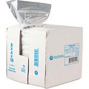 """Food Bags 18"""" x 8"""" x 4"""" 0.68 Mil - 1000 Pack"""