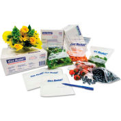 "Reclosable Food Bags 30"" x 12"" x 8"" 0.75 Mil - 500 Pack"